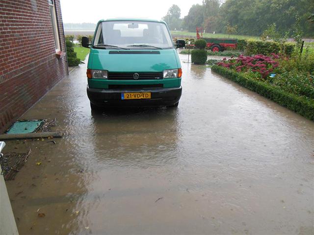 Wateroverlast Voorne-Putten 1