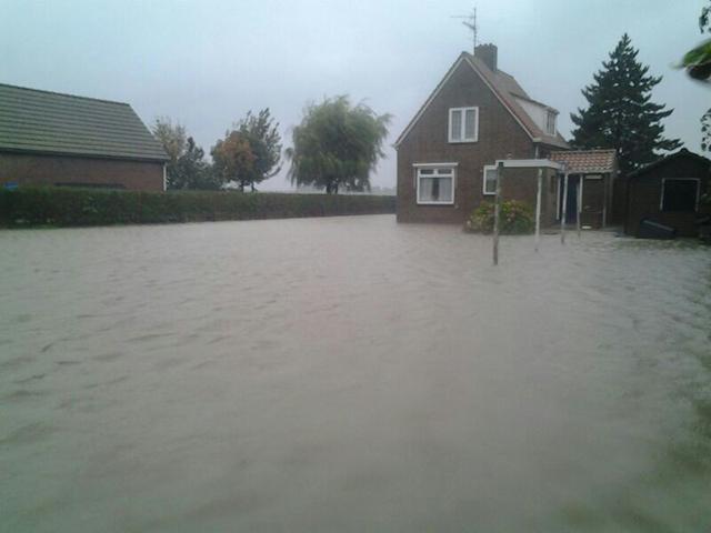 Wateroverlast Voorne-Putten 10