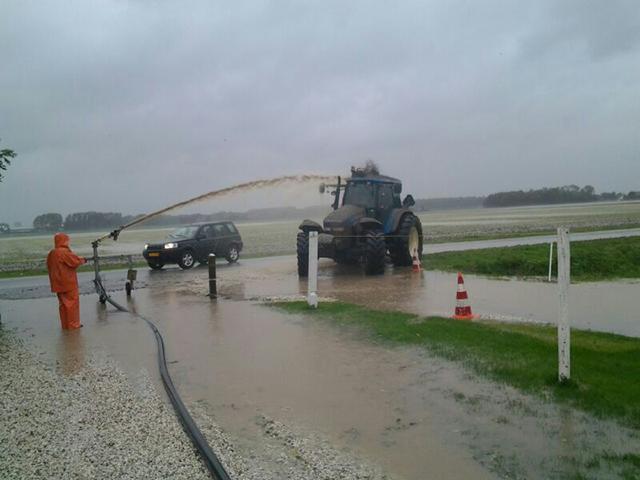 Wateroverlast Voorne-Putten 12