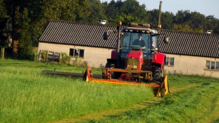 Gras maaien Overijssel Agrifoto
