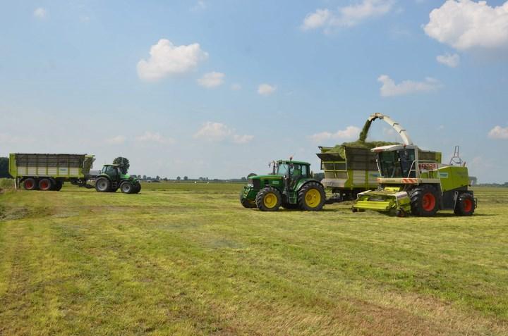 Gras hakselen Verschoor & Oomen Agrifoto